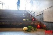 В Минске молитвенно помянули жертв трагедии на Немиге