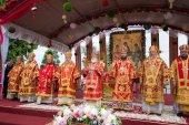 Патриарший экзарх всея Беларуси возглавил торжества по случаю дня памяти праведного Иоанна Кормянского