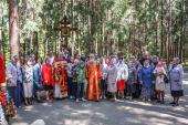 Память жертв репрессий молитвенно почтили в Левашовской пустоши