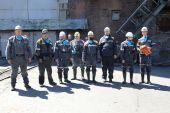 В шахте «Обуховской» города Зверево на глубине 700 метров состоялся молебен
