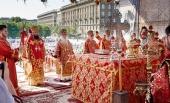 В центре Волгограда прошли торжества, посвященные 100-летию мученического подвига сщмч. Николая Попова