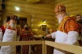 Патриарший экзарх всея Беларуси освятил храм святителя Иоанна Шанхайского в Елисаветинском монастыре Минска
