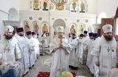 Патриарший наместник Московской епархии освятил Успенский храм в селе Белые Колодези