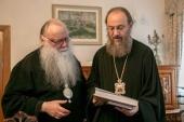 Управляющий делами Украинской Православной Церкви и ректор Чикагского духовного училища обсудили вопросы сотрудничества в сфере богословского образования