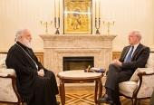 Митрополит Минский Павел встретился с послом Германии в Беларуси