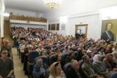 В Санкт-Петербурге представлен фильм о преподобном Серафиме Вырицком