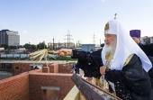 Святейший Патриарх Кирилл освятил место строительства Успенского храма в Калининграде