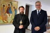 Председатель ОВЦС встретился с генеральным секретарем Всемирного совета церквей