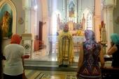 В турецком Измире состоялось первое богослужение для русскоязычных верующих Московского Патриархата