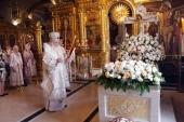 В 29-ю годовщину интронизации Святейшего Патриарха Алексия II состоялась панихида в Богоявленском кафедральном соборе г. Москвы