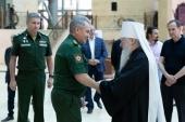 Патриарший наместник Московской епархии принял участие в заседании совета по строительству главного храма Вооруженных сил России