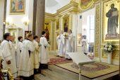 30-летие начала возрождения прихода отпраздновали в Вознесенском соборе Царского Села