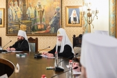 His Holiness Patriarch Kirill chairs session of the Supreme Church Council