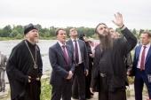 Председатель Патриаршего совета по культуре принял участие в совещании по сохранению и реконструкции псковских монастырей