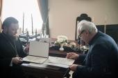 Санкт-Петербургская духовная академия и Национальный центр рукописей Грузии заключили меморандум о сотрудничестве
