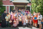 Предстоятель Украинской Православной Церкви вручил церковные награды многодетным матушкам