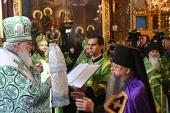 Слово Святейшего Патриарха Кирилла при вручении архиерейского жезла Преосвященному Алексию (Поликарпову), епископу Солнечногорскому