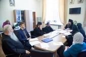 Члены Межведомственной комиссии по вопросам образования монашествующих посетили Самарскую духовную семинарию