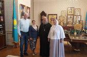 Глава Казахстанского митрополичьего округа встретился с председателем координационного комитета Рамсарской региональной инициативы Центральной Азии