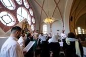 Завершился гастрольный тур Московского Синодального хора по городам Европы