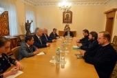 Председатель ОВЦС встретился с заместителем главы Правительства Венгрии