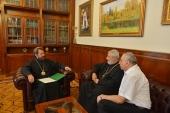 Митрополит Волоколамский Иларион встретился с иерархом Ассирийской Церкви Востока