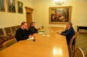 Председатель Отдела внешних церковных связей провел встречу с послом Дании в России