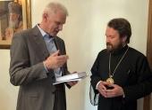 Митрополит Волоколамский Иларион встретился с помощником Президента РФ А.А. Фурсенко