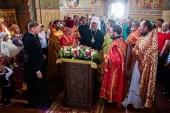 Митрополит Астанайский Александр совершил Божественную литургию в Свято-Троицком Ипатьевском монастыре Костромы