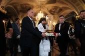 С панихиды в Богоявленском кафедральном соборе в Москве началась Международная мемориальная акция «Свеча памяти»