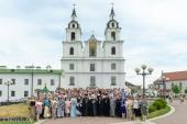 Патриарший экзарх всея Беларуси возглавил выпускной акт Минского духовного училища