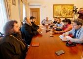 Управляющий делами Украинской Православной Церкви рассказал иностранным журналистам о ситуации в украинском Православии
