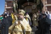 В Алексеевском ставропигиальном женском монастыре состоялись престольные торжества соборного храма обители