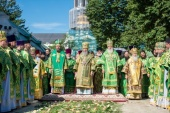 Representatives of Local Orthodox Churches take part in the celebrations in honour of Metropolitan Onufry of Kiev and All Ukraine