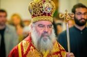 Митрополит Лимасольский Афанасий: Восхищаюсь тем, как митрополит Онуфрий принял этот кризис