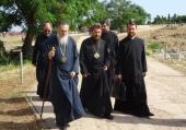 Началась паломническая поездка митрополита Волоколамского Илариона в Грецию
