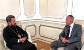 Состоялась встреча председателя ОВЦС с послом России в Греции
