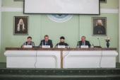 В СПбДА в рамках образовательного проекта «Муниципальная школа» прошло занятие для депутатов Ленинградской области