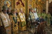 Делегаты ряда Поместных Церквей приняли участие в торжествах по случаю дня тезоименитства Блаженнейшего митрополита Онуфрия