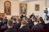 Иерарх Иерусалимской Православной Церкви выступил с лекцией в Киевской духовной академии