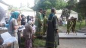 В Серафимо-Знаменском скиту в Подмосковье отпраздновали годовщину обретения мощей преподобноисповедницы Фамари (Марджановой)