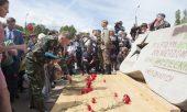Клирик Нижегородского округа принял участие во встрече эвакуированного из Польши мемориала советским воинам