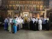 110-летие повторного прославления святой Анны Кашинской торжественно отметили в единоверческом храме в подмосковном селе Михайловская Слобода