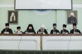 В Санкт-Петербургской духовной академии прошли итоговое заседание Ученого совета и общее собрание преподавателей
