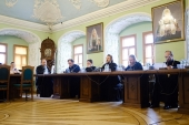 В Московской духовной академии прошли заседание Ученого совета и итоговое общее собрание профессоров и преподавателей