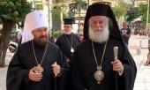 Митрополит Волоколамский Иларион встретился с Патриархом Александрийским Феодором