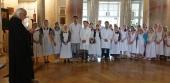 Председатель Синодального отдела по церковной благотворительности вручил дипломы выпускникам Свято-Димитриевского училища сестер милосердия