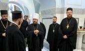 Митрополит Волоколамский Иларион совершил заупокойную литию на военном кладбище Зейденлик в Салониках