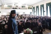 В Московской духовной академии состоялся торжественный выпускной акт