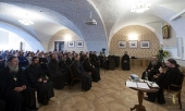 В Оптиной пустыни открылся цикл лекций-встреч «Оптинский лекторий»